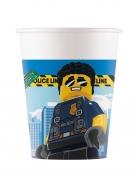 Lego City™-Pappbecher FSC® zertifiziert 8 Stück bunt 200 ml