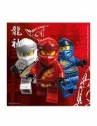 Lego Ninjago™-Papierservietten FSC® zertifiziert 20 Stück bunt 33 x 33 cm