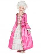 Marie Antoinette Mädchenkostüm barock pinkfarben-weiß