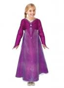 Elsa™-Kostüm für Kinder Die Eiskönigin 2 lila
