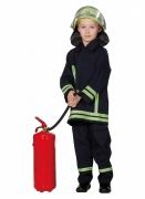 Feuerwehrmann-Kostüm für Kinder Karneval