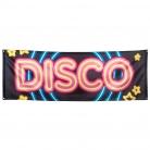 70er-Jahre Discobanner bunt 220 x 74 cm
