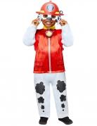 Marshall™-Kostüm für Kinder offiziell Paw Patrol™ schwarz-weiss-rot