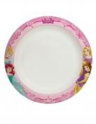 Offizielle Disney-Prinzessinnen™ Partyteller 8 Stück bunt 24 cm