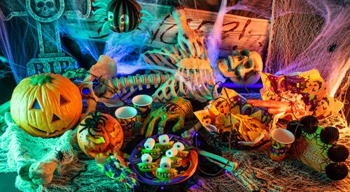 Halloweendeko für Monsterglubscher