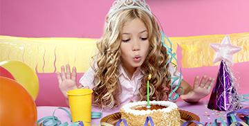 Geburtstag Mädchen