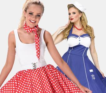 50er-Kostüme für Damen