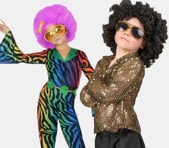70er-Jahre Kostüme für Kinder
