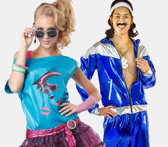 80er-Kostüme für Karneval