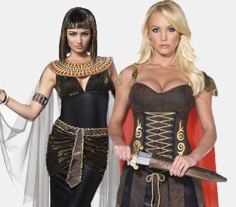 Antike Kostüme für Damen