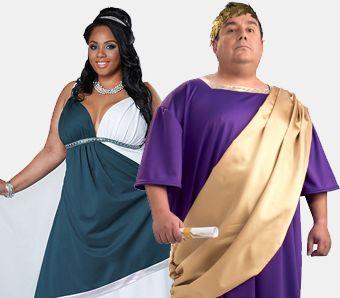 Antike Kostüme große Größen