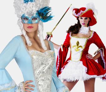 Barock-Kostüme für Damen