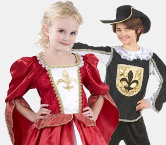 Barock-Kostüme für Kinder