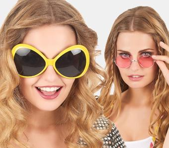 Brillen für Fasching