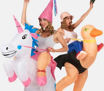 Huckepack-Kostüme für Damen