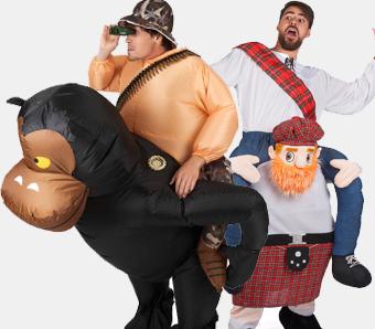 Huckepack-Kostüme für Karneval