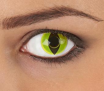 Farbige Kontaktlinsen für Fasching