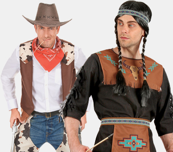 Fasching-Cowboykostüme für Herren