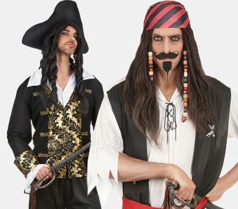 Fasching-Piratenkostüme für Herren