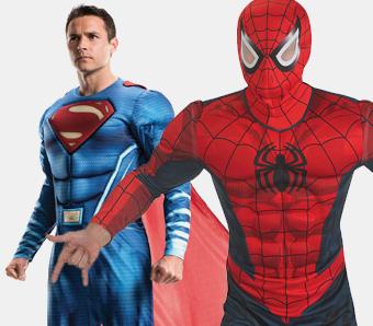 Fasching-Superhelden-Kostüme für Herren