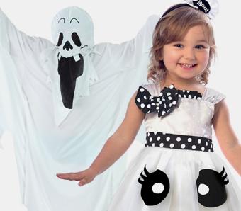 Gespenst-Kostüme für Kinder