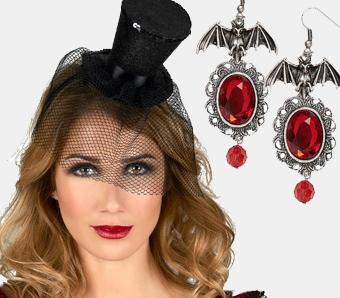 Gothic-Zubehör für Halloween