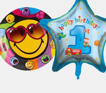 Günstige Geburtstagsdeko