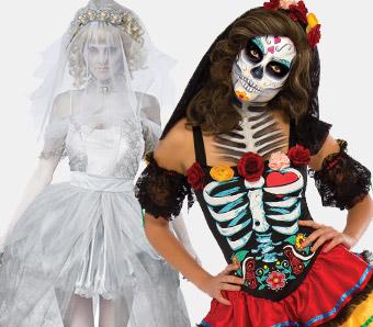 Günstige Halloween-Damenkostüme