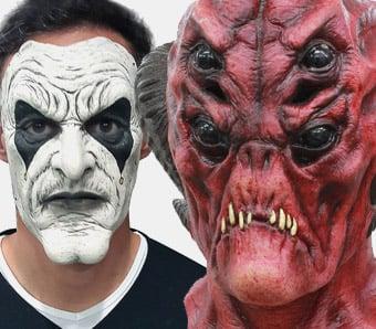 Günstige Halloween-Masken