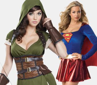 Günstige Kostüme für Damen