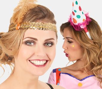 Haarschmuck & Haarreifen für Fasching