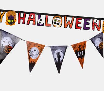 Halloween-Girlanden