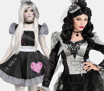 Halloween-Gothic-Kostüme für Damen