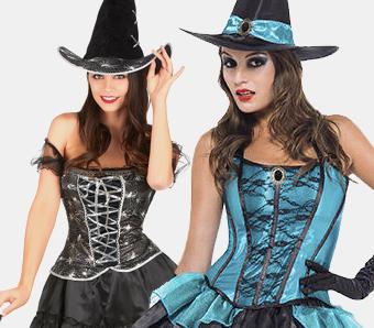 Halloween-Hexenkostüme für Damen