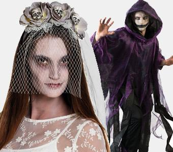 Halloween-Kostümzubehör für Geister