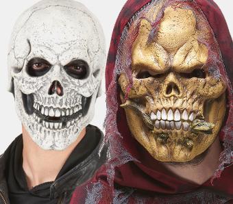 Halloween-Skelett-Masken