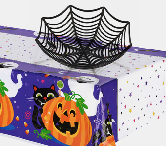 Halloween-Tischdekoration