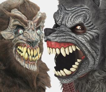 Halloween-Werwolf-Masken