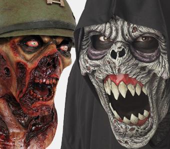Halloween-Zombie-Masken