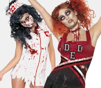 Halloween-Zombiekostüme für Damen