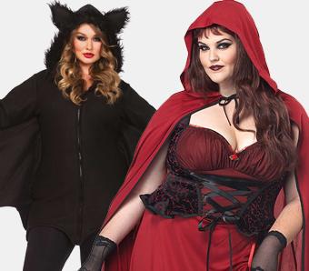 Halloweenkostüme für Damen in großen Größen