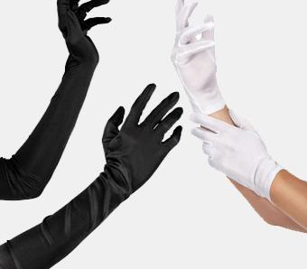 Handschuhe für Fasching