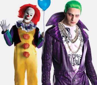 Herren-Film-Kostüme für Halloween