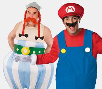 Herren-Film-Kostüme in großen Größen