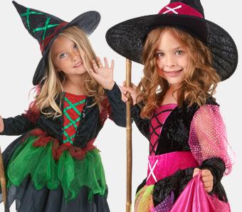 Hexen-Kostüme für Kinder