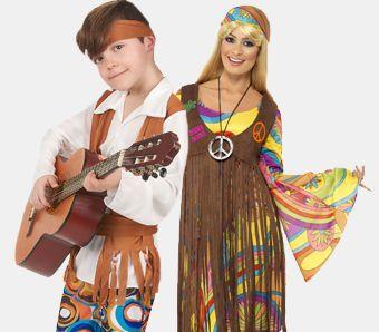 Hippie Karnevalskostüme