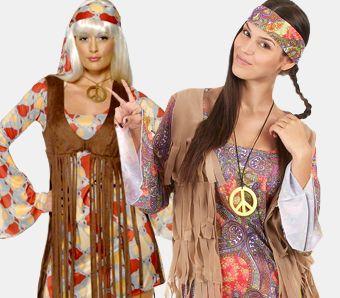 Hippie Kostüme für Frauen