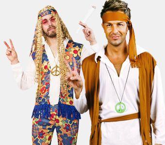 Hippie Kostüme für Männer