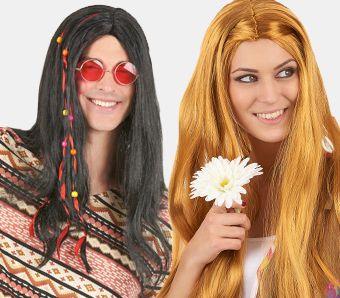Hippie-Perücken