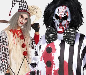 Horror-Clown-Kostüme für Herren
